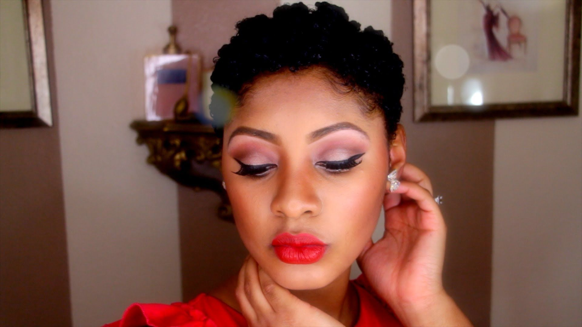 Sweetheart red lips makeup tutorial beauty pinterest lips and
