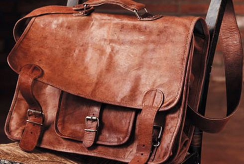 A leather satchel better than this one.  Can't yet find just what I'm looking for.