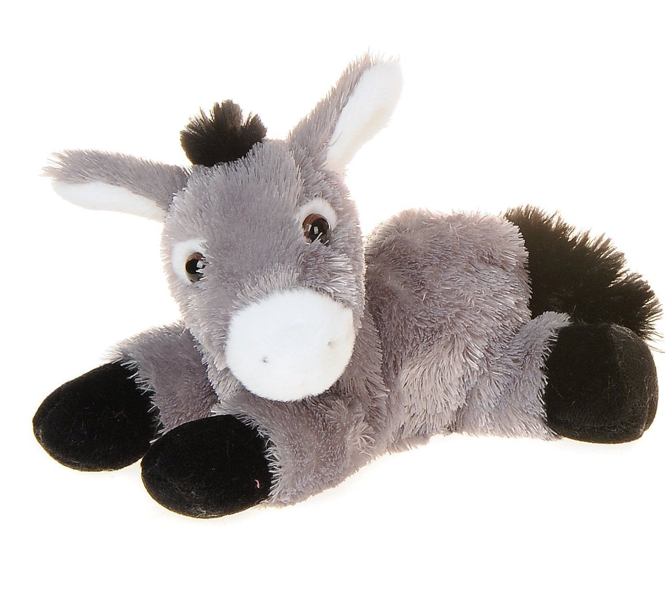 Fiesta Toys Standing Hippo Hippopotamus Plush Stuffed