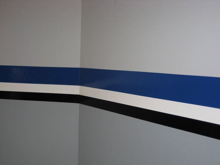 Interior Paint Stripes I Like The Gray Walls With The Black And Painted Garage Walls Garage Walls Garage Paint