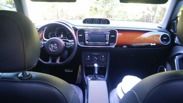 Picture Of 2013 Volkswagen Beetle Turbo Fender Edition Interior