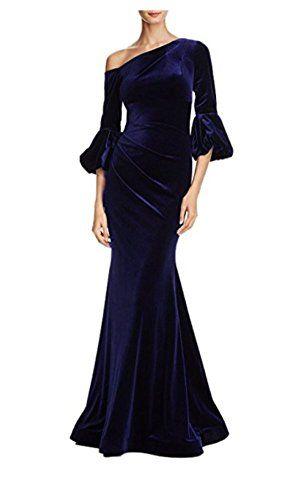 NewFex Women\'s Off Shoulder Elegant Mermaid Prom Dress Lo... https ...