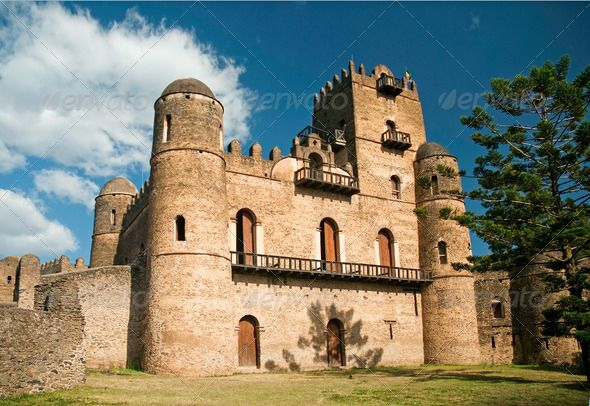gonder gondar ethiopia royal ethiopian kings castle (Ethiopian, gondar, gonder, kings, royal)