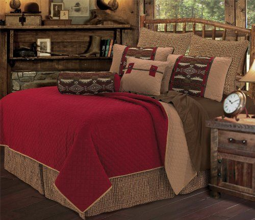 """HiEnd Accents Tahoe Bedding Queen by HiEnd Accents. $359.00. 6 pc reversible coverlet, 92""""x96"""" comforter, 21""""x27""""+3"""" pillow sham (2pcs), 18""""x18"""" pillow, 8""""x21"""" neckroll, 60""""x80""""+18"""" dust ruffle. Diamond quilted reversible coverlet, chenille patterned shams, houndstooth bedskirt, accessory pillow, and neckroll. Machine wash warm, tumble dry low. Tahoe Bedding in Queen Size. Diamond quilted reversible coverlet, chenille patterned shams, houndstooth bedskirt, accessory..."""