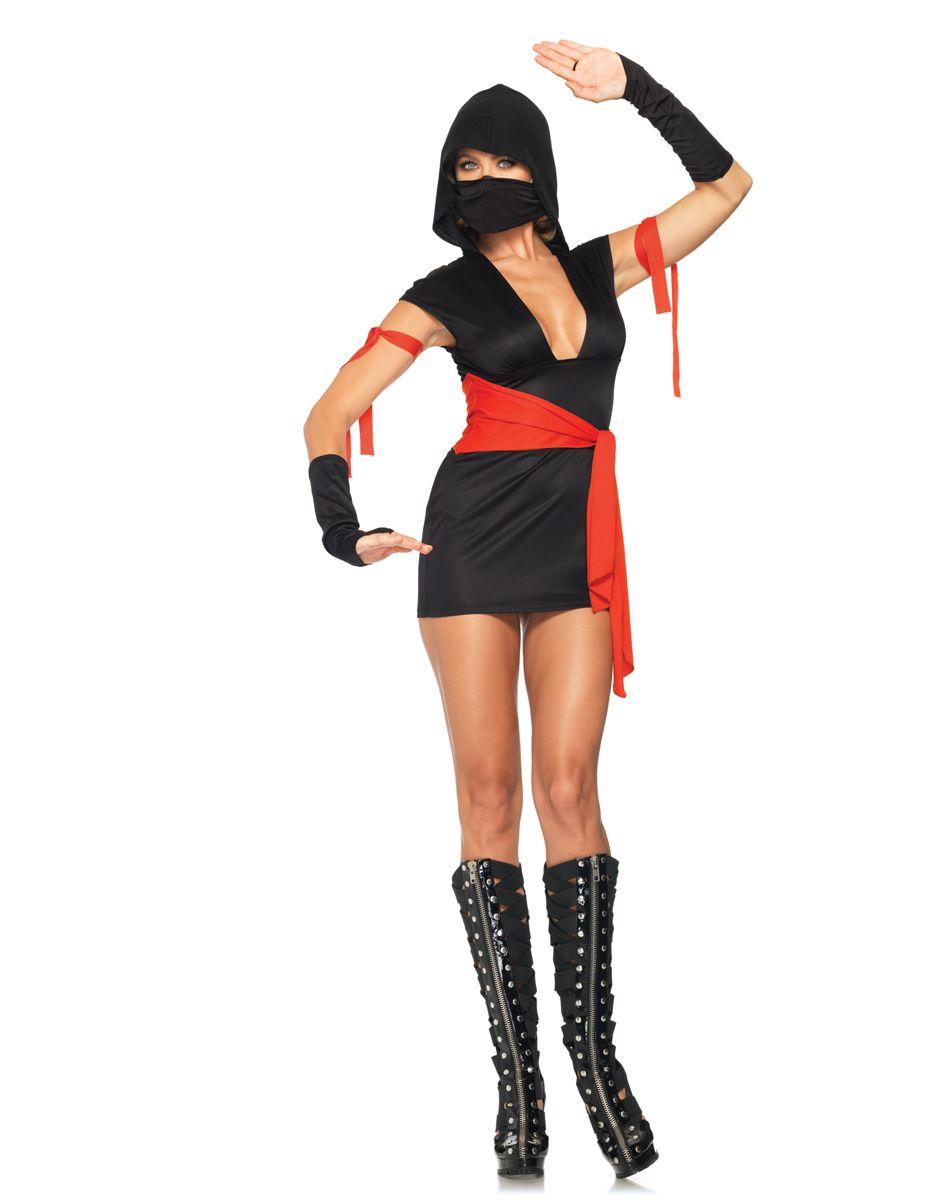 Womens ninja striker costume, sexy ninja costume