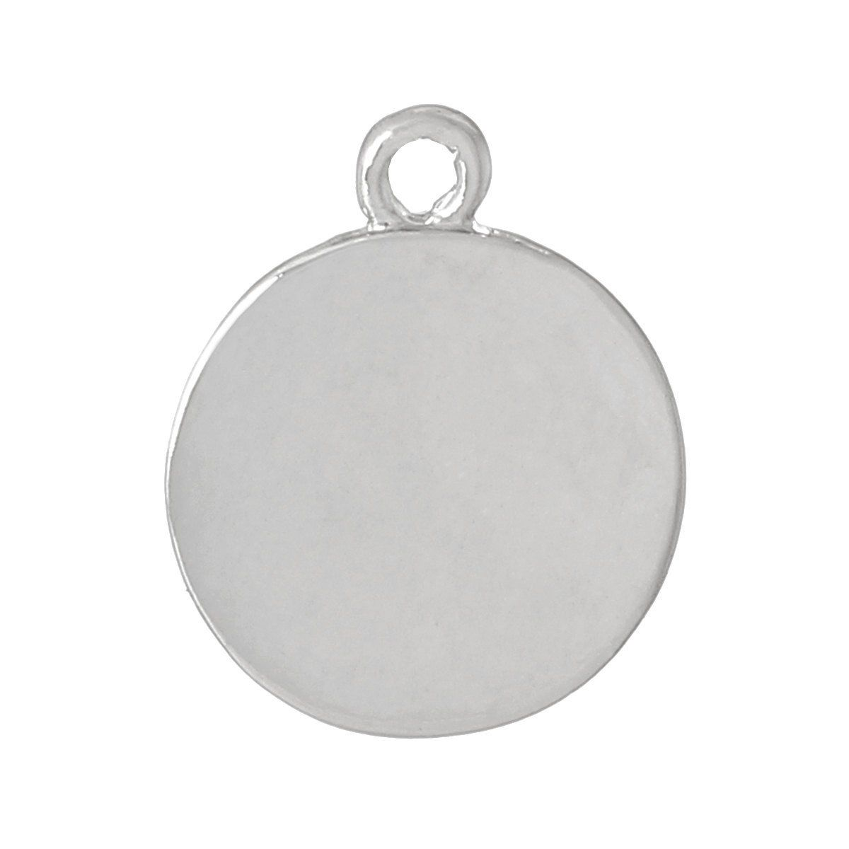4 Thick Silver Zinc Metal Circle Disc Stamping Blanks Charms Pendants 1 2 Stamping Blanks Metal Stamping Blanks Metal Stamping Craft