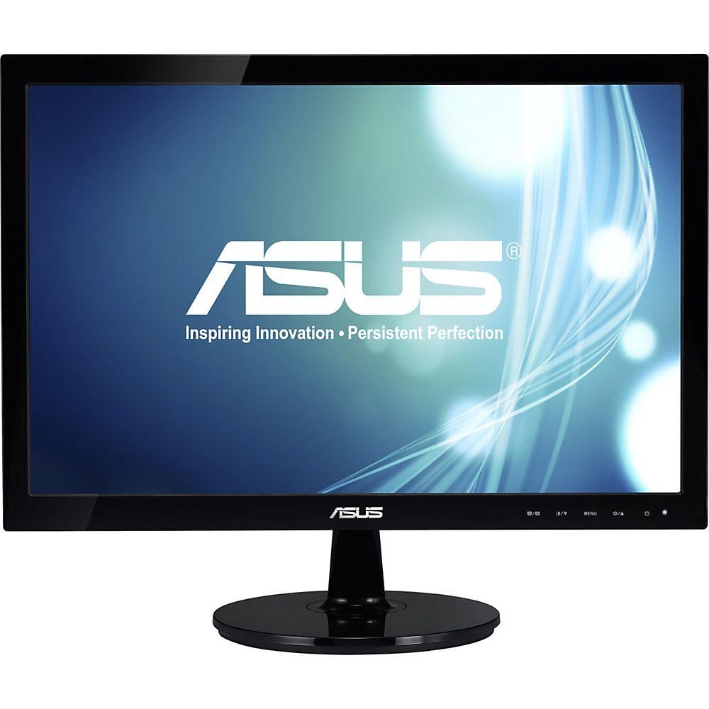 Asus 19 Widescreen Led Monitor Vs197d P Monitor Lcd Monitor Led