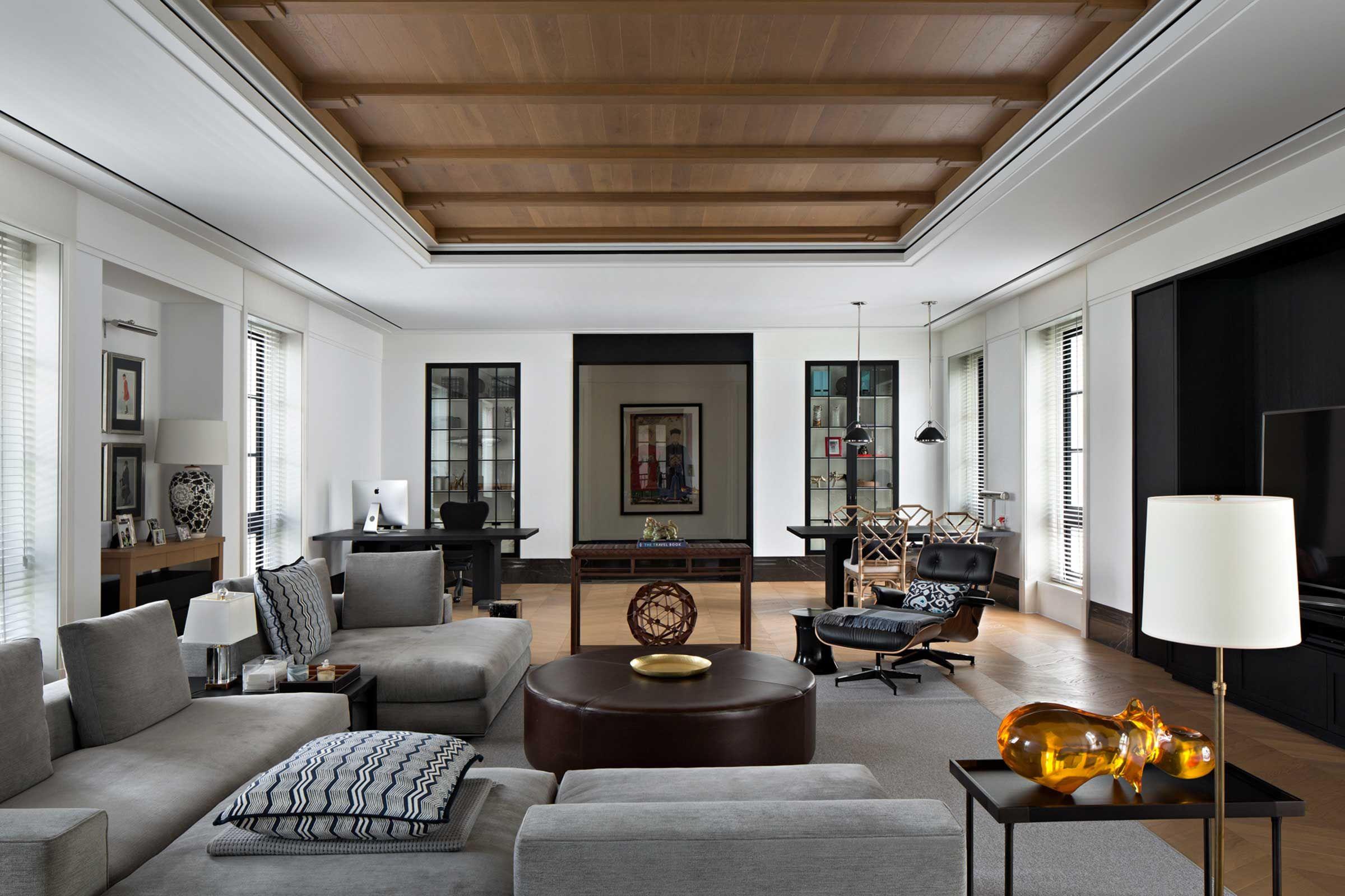 Contemporary Colonial   Contemporary interior design ...