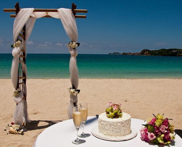 Emily Terrell Romantic Resorts Caribbean Beach Wedding Destination Wedding