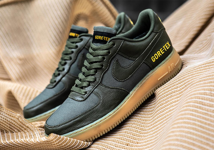 Detailed Look at the Nike Air Force 1 Low Gore Tex | Nike