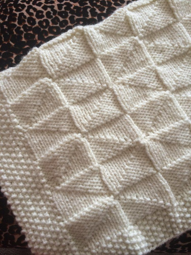 Windmill Blanket Knitting Pattern By Knit Sew Make