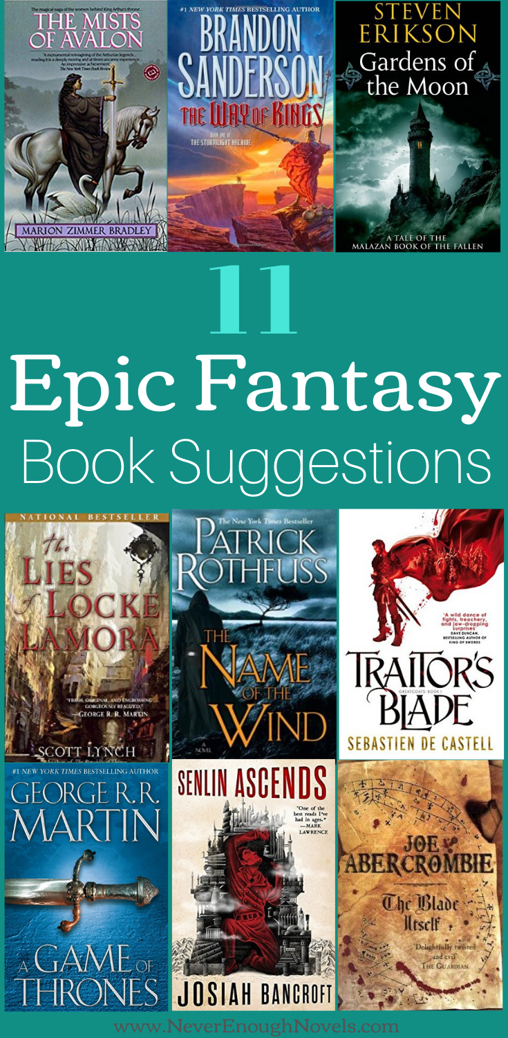 11 Fantasy Book Recommendations Never Enough Novels Epic Fantasy Books Fantasy Books Fantasy Romance Books