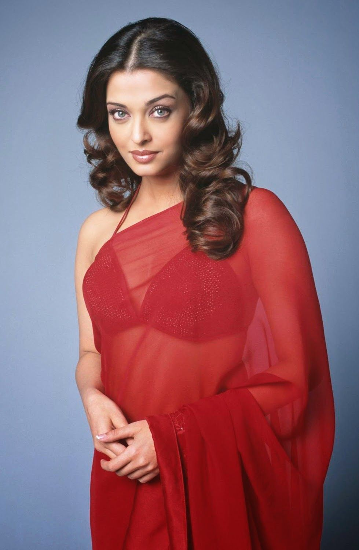 Watch Aishwarya Rai Hot In Red Saree In Hd My Bollywood Stars Saree Dress Red Saree Saree Designs