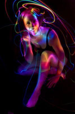 Light Painting Portraits