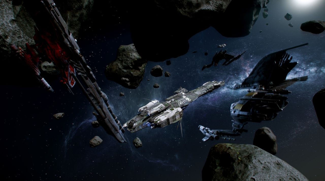 Star Citizen Will Feature AI System, 'Kythera' - http://www.worldsfactory.net/2014/03/12/star-citizen-will-feature-ai-system-kythera