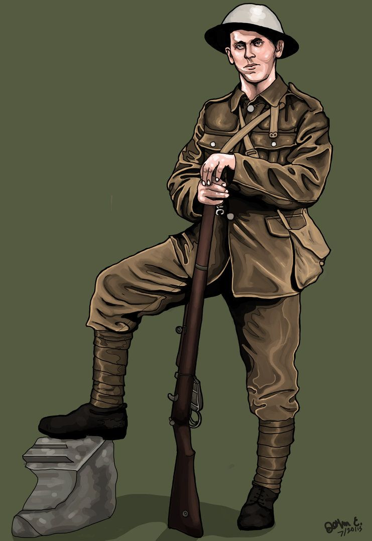 Image Result For World War 1 Soldier English Resources Wwi