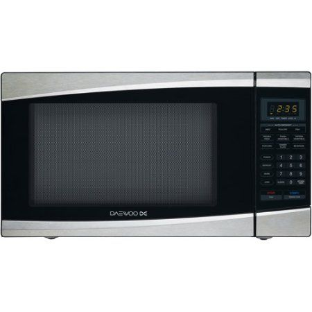 Daewoo 1.3 cu ft Microwave Oven, Stainless Steel, Silver   Microwave