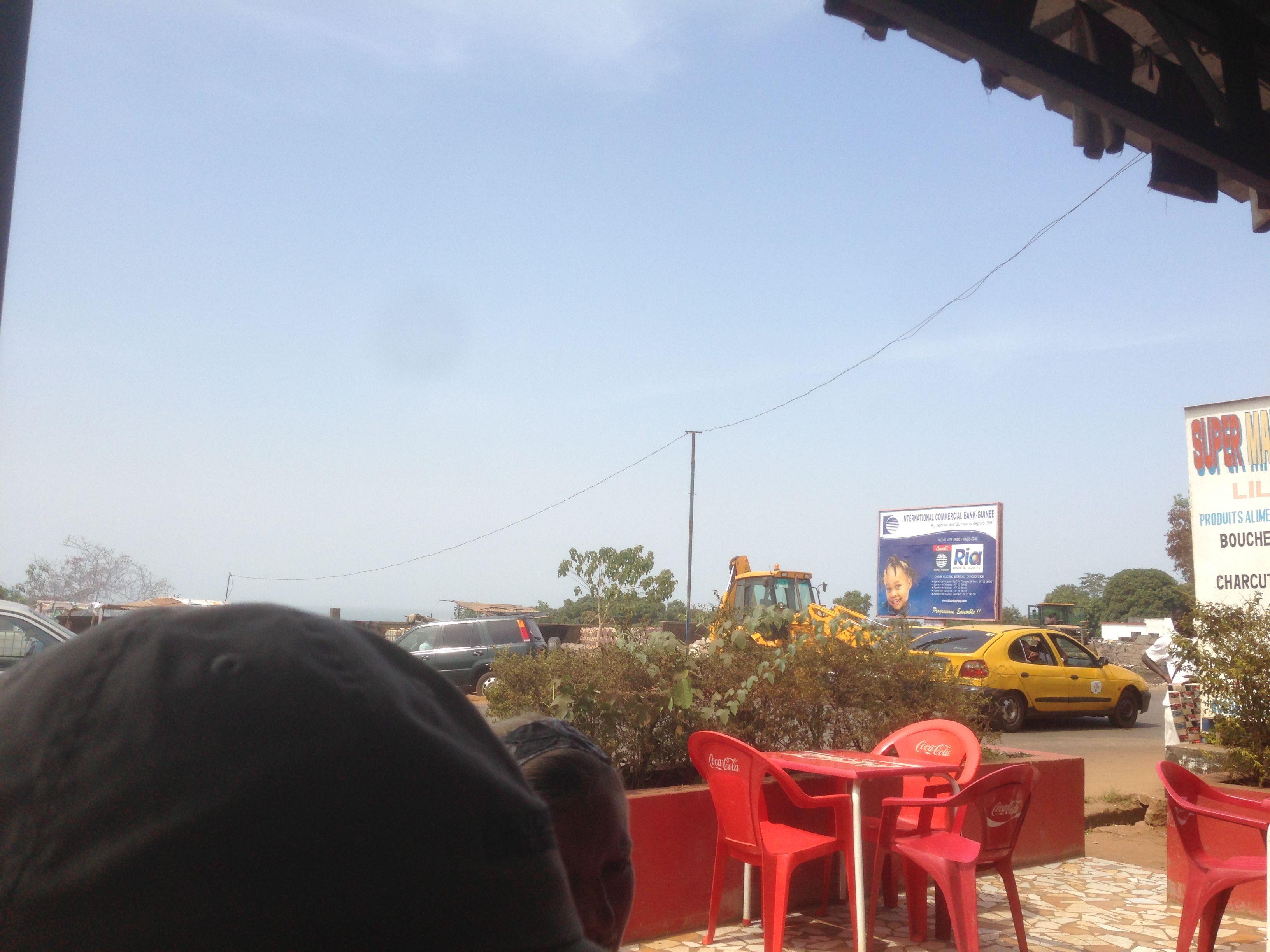 Ocean view, Guinea