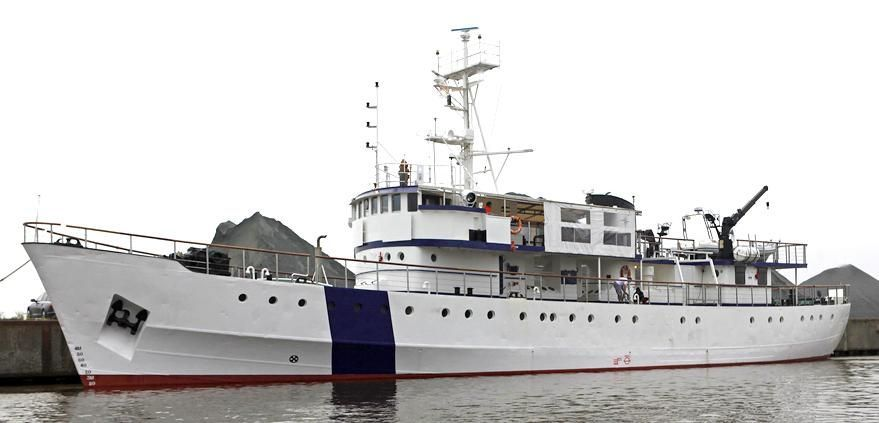 1951 Custom Expedition Support Vessel Power Boat For Sale - www