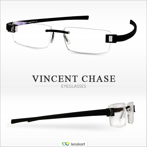4e32f0e8f63 Got oodles of face value  Show more of your face with Vincent Chase s  rimless eyeglasses