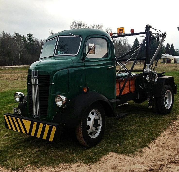 1937 Gmc Cabover W Holmes Wrecker Gmc Trucks Classic Trucks