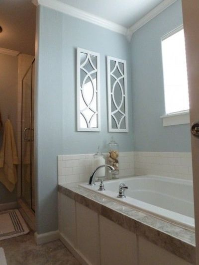 Behr Provence Blue Bathroom Behr Light French Gray