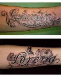 Tatuajes En Los Brazos Nombres