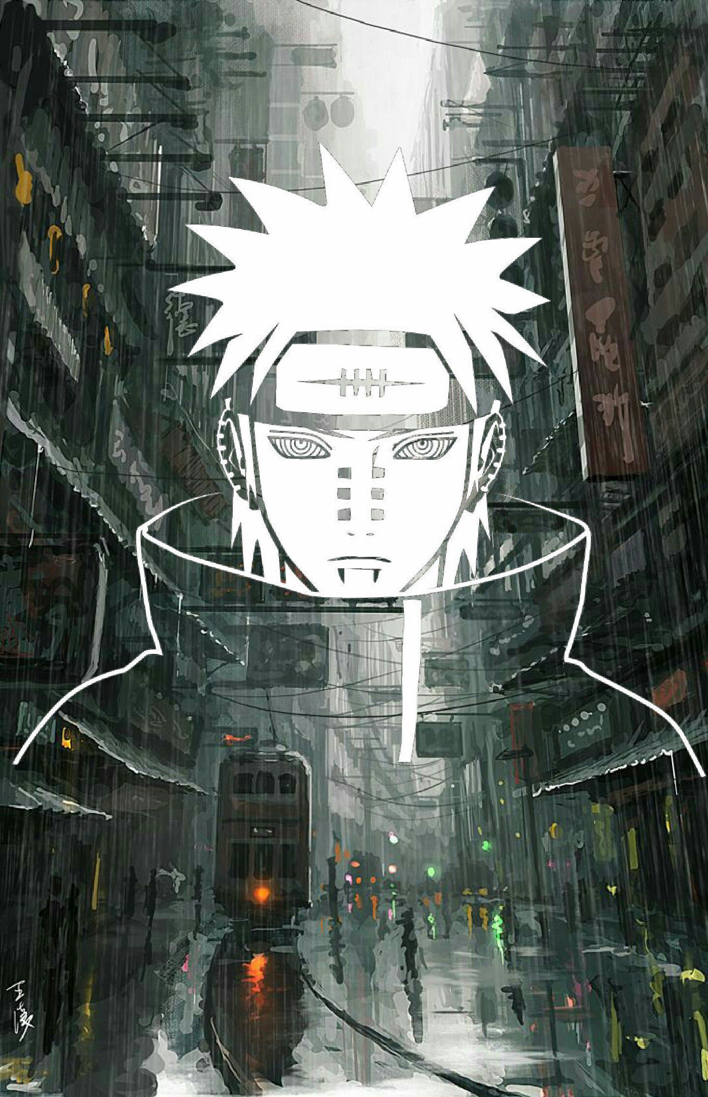 Hidden Rain Village With Images Wallpaper Naruto Shippuden