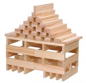 Kapla Holzer Fur Individuellen Bauspass Bouwplannen Bouwblokken Speelblokken