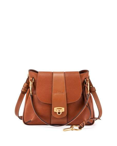 Chloe - Lexa Medium Shoulder Bag, Caramel $2,050.00 | Bags et ...