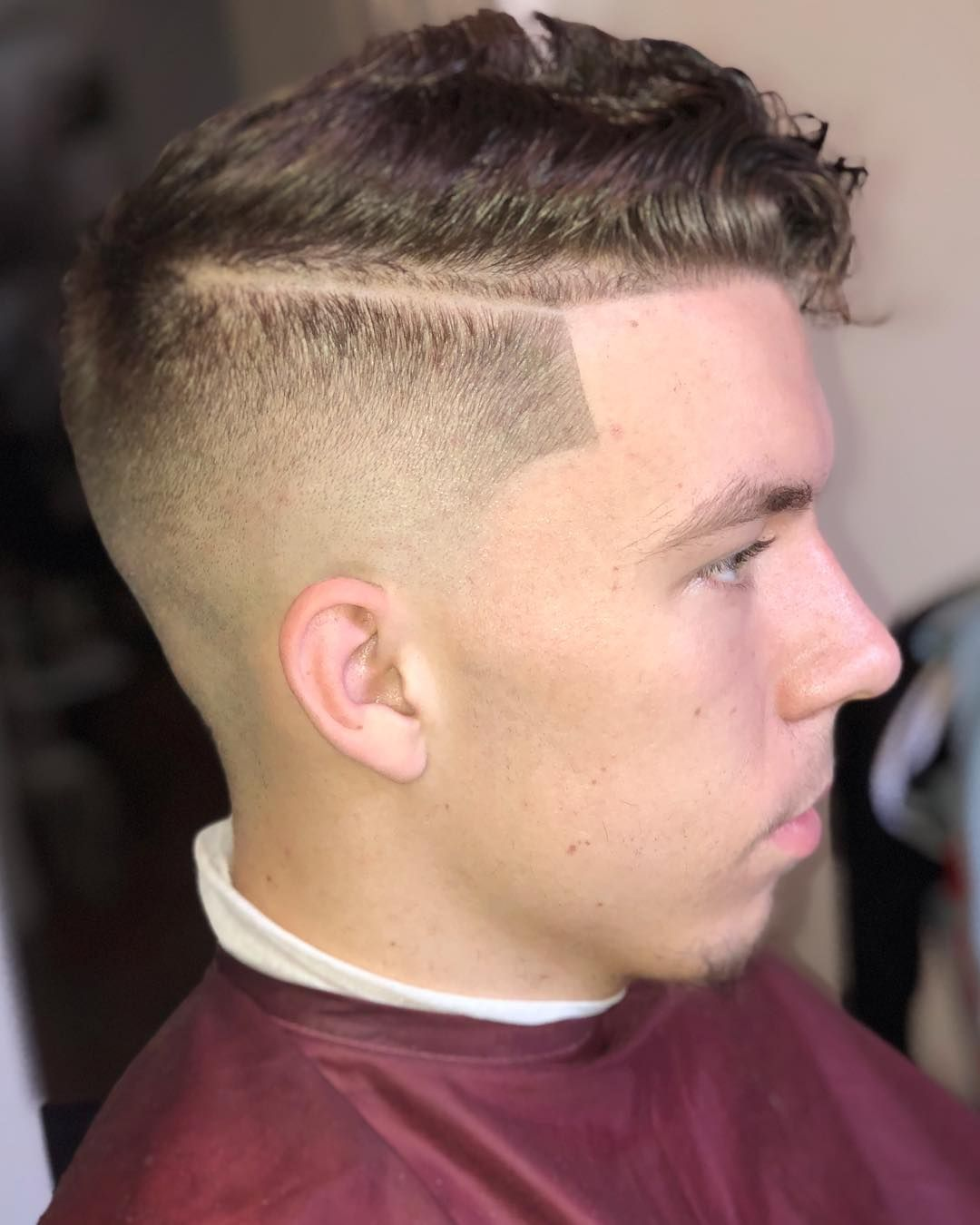 Side part menshairstyles teen boys and men haircut and grooming