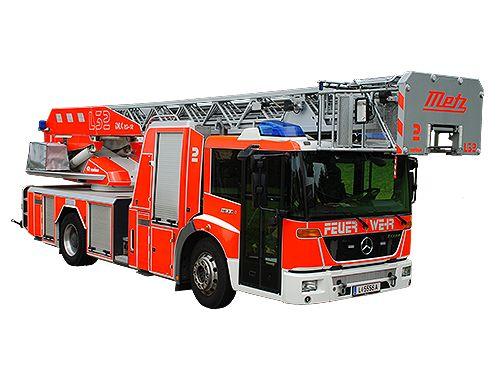 Drehleiter Mit Korb Berufsfeuerwehr Feuerwehr Fahrzeuge Und