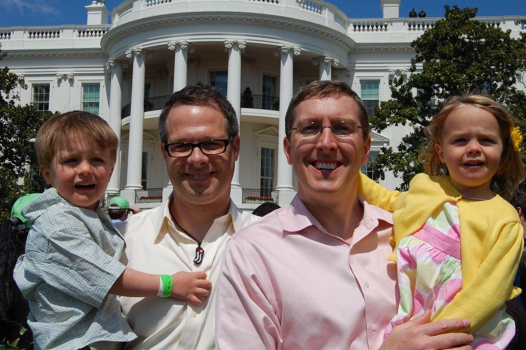 easter egg gay house white