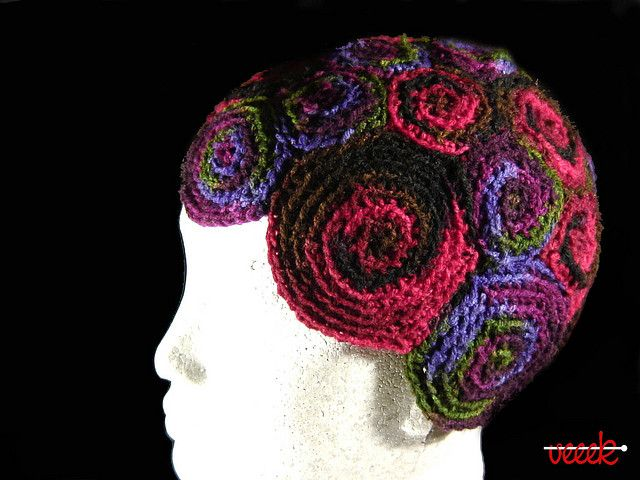 """At last a use for all those """"Knitting Nancy"""" strands!"""
