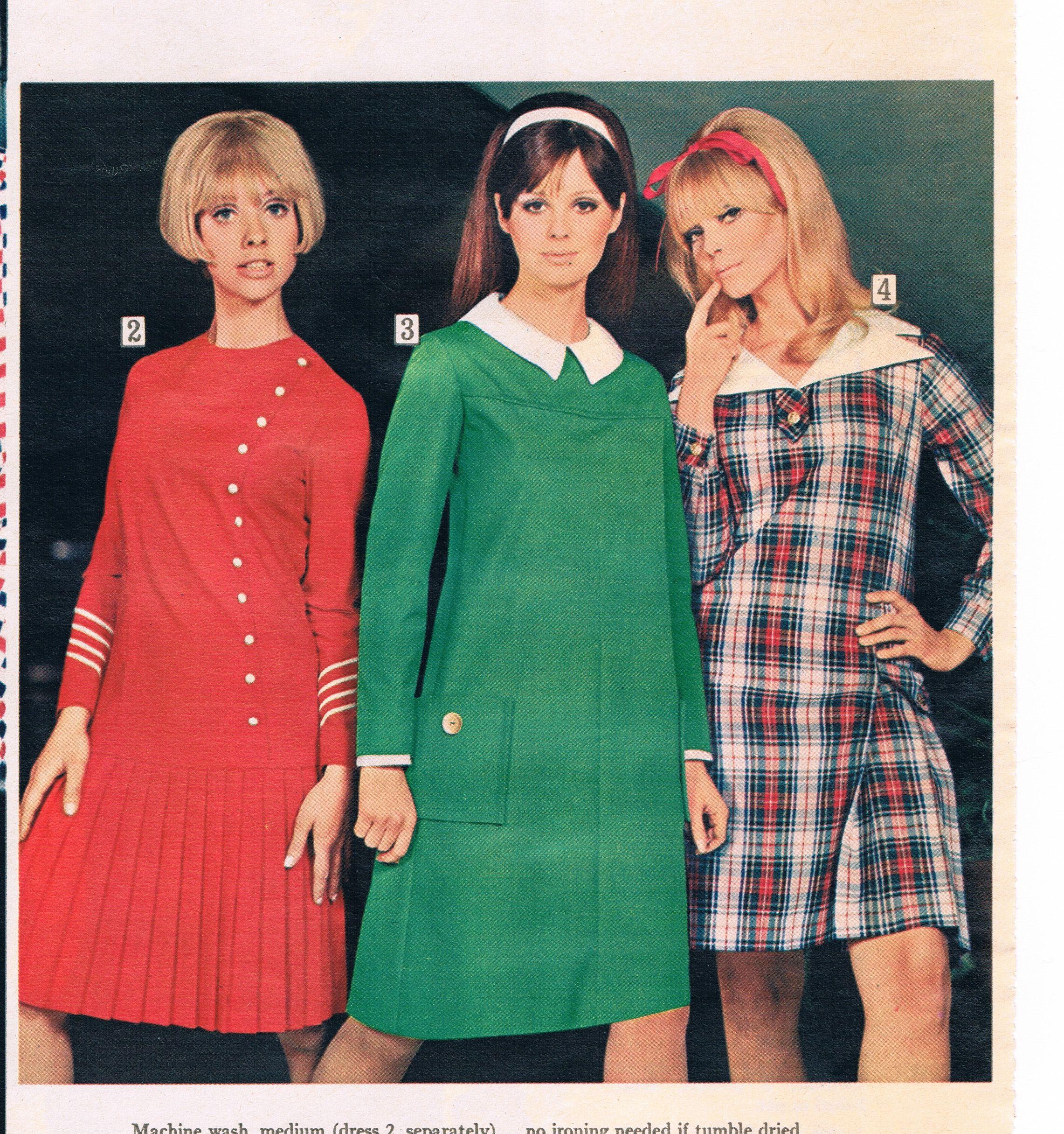 Sears Catalog Dress Fashion 1979