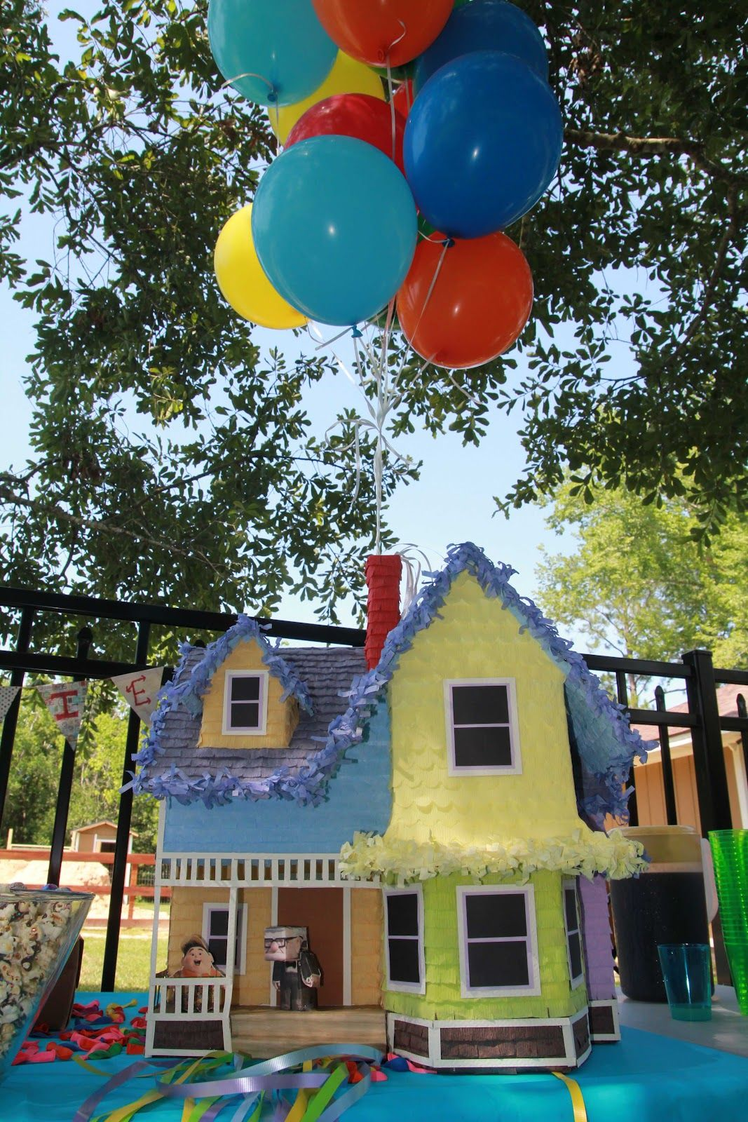 disney up house pinata complete with 3d characters charlie s 1st