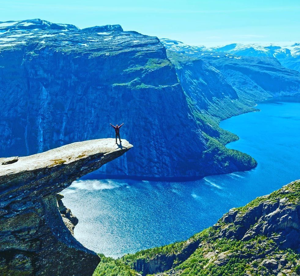 Spring has sprung which means that summer is not far behind  and its time for some serious travel planning.  Pinterest has been an inspiration for many when it comes to the wanderlust bug. Weve rounded up the most pinned destinations to get you in the mood. Its going to be one heck of a summer!  Above is Trolltunga in Norway. To get to this amazing cliff at Trolltunga means a long day's hike and one that is best done during the summer months when the mountain snow has melted.  Whats your…