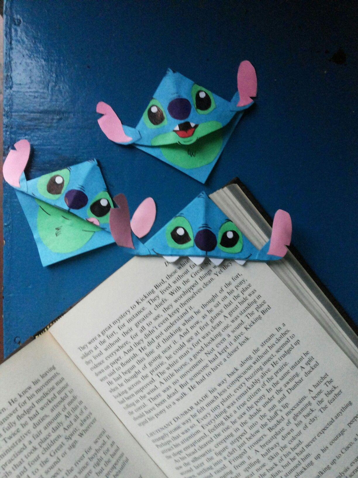 3 Easy Diy Storage Ideas For Small Kitchen: DIY Stitch Corner Bookmarks