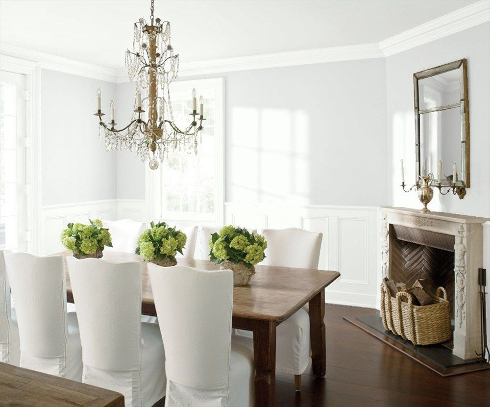 Dining Room 2  Chantilly Lace Pure White And Walls Classy Blue Green Dining Room Review