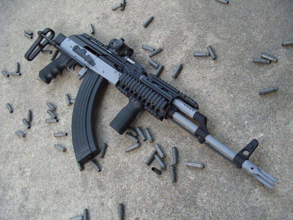 Stainless Steel Ak-47 | Weapons | Guns, Assault weapon