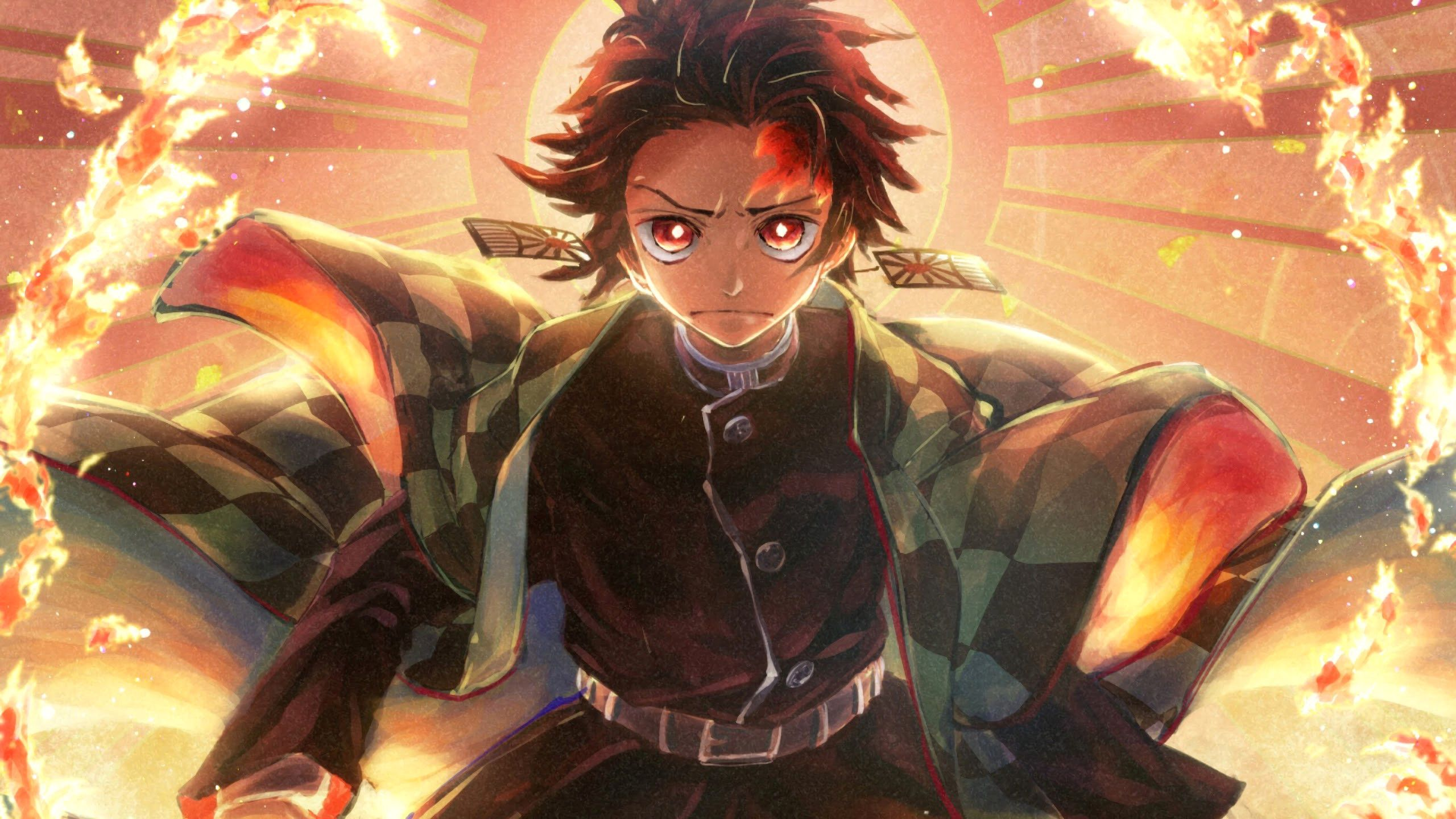 Unique Tanjirou Kamado Kimetsu No Yaiba 4k Wallpaper Anime Wallpaper Android Wallpaper Anime Anime