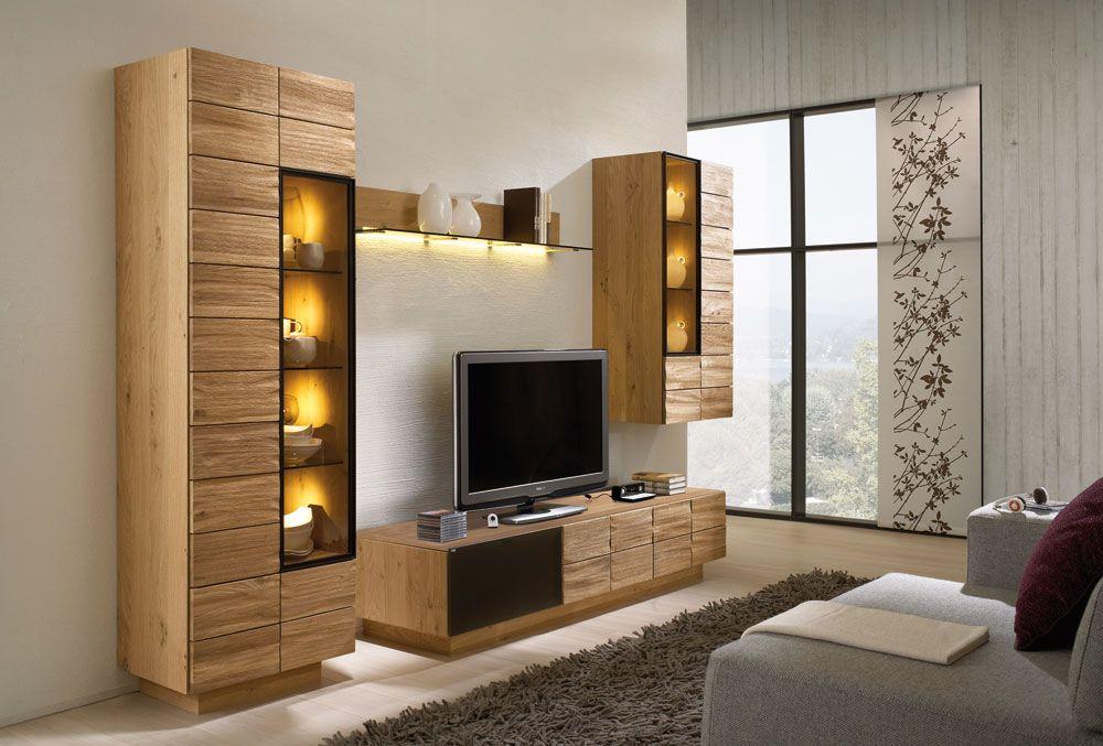 meuble tv et colonne vitrine haut de