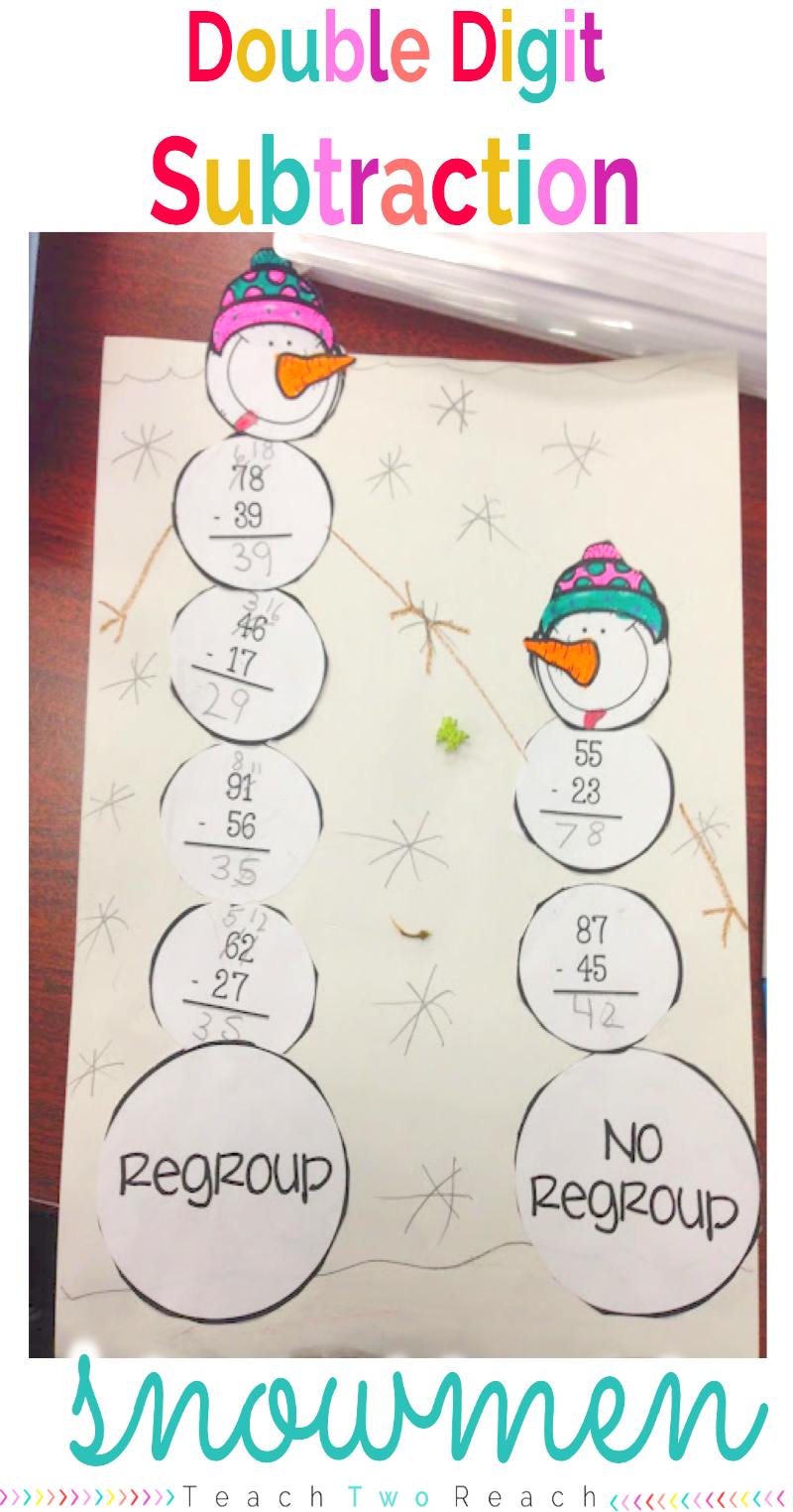 Winter Activities And 2 Freebies Math Subtraction Math Crafts Math Addition [ 1524 x 800 Pixel ]