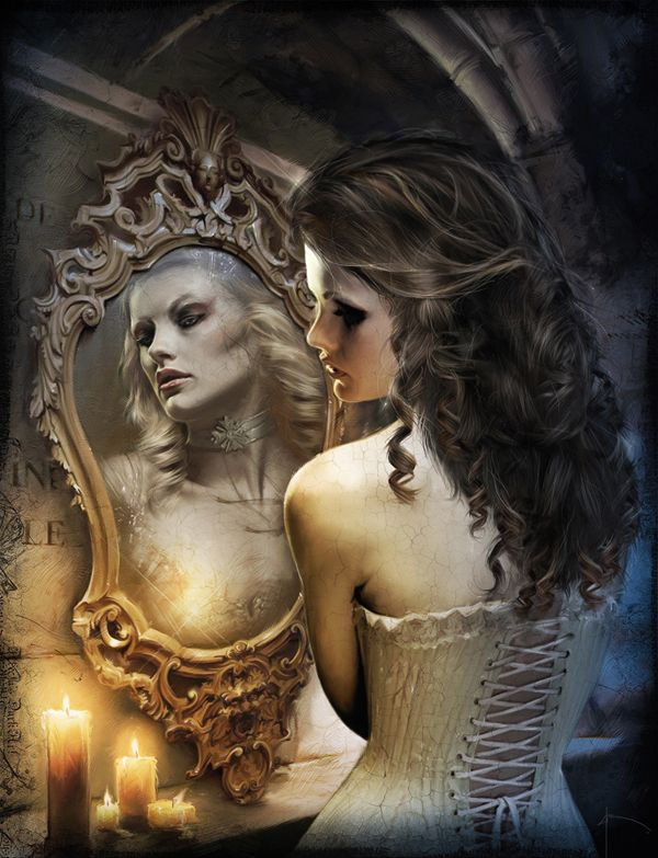 Babes mirror mirror starring katerina and david clip 4