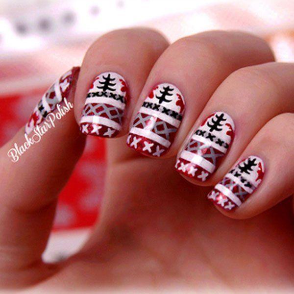 32 amazing christmas nail design ideas 20152016 for women fashion craze - Nail Design Ideas 2015