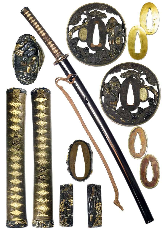 Pin On Samurai Swords