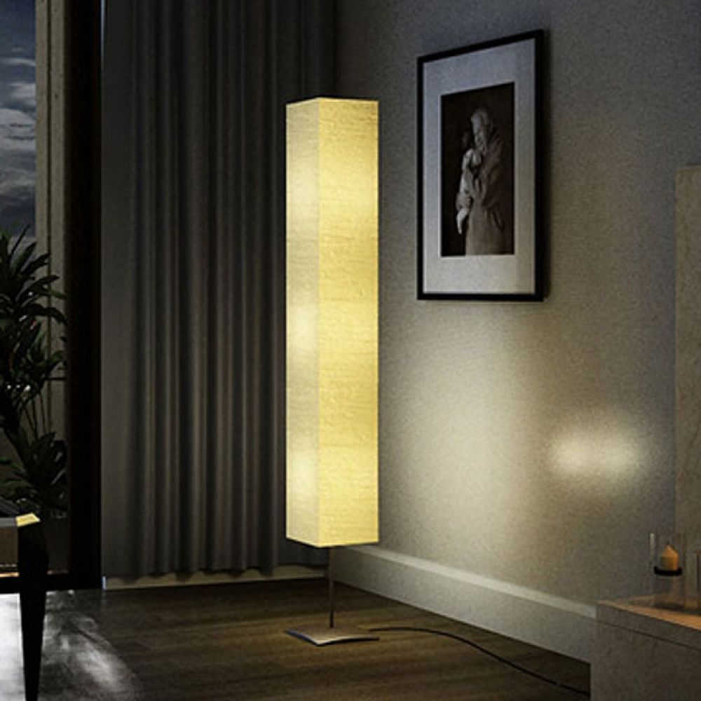 Floor Lamp 3 Light Modern Tall