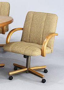 Chromcraft Furniture C190856 Swivel Tilt Caster Chair