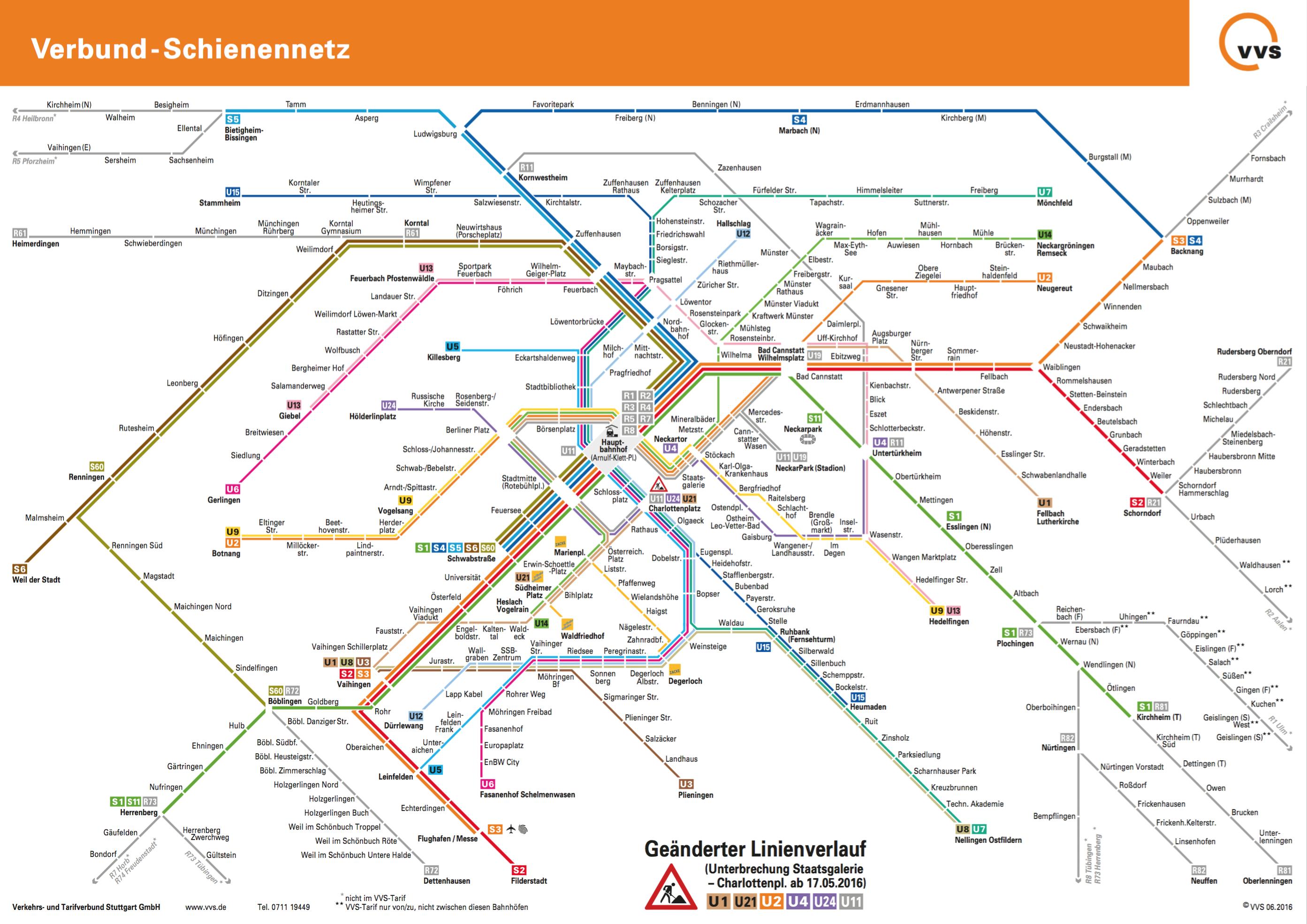 Local Transport Stuttgart Maps Route Pinterest Stuttgart