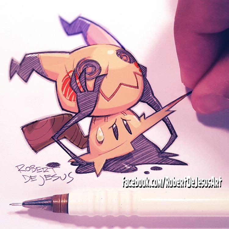 Like Robertdejesus Pokemon Cute Pokemon Mimikyu